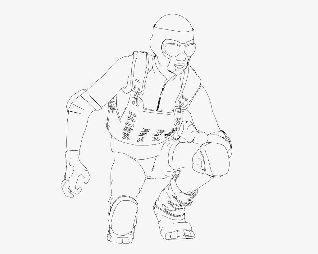Freestyle render with default line styles